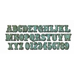 Fustella Bigz Alfabeto