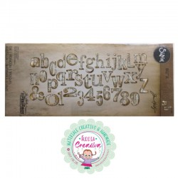 Fustella bigz alfabeto word...
