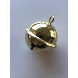 Sonaglio diametro 42mm dorato