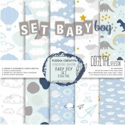 Set BABY BOY DIGITAL...